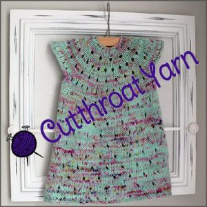 cutthroat yarn tunic