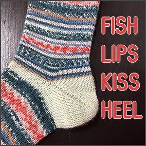 Fish Lips Kiss Heel