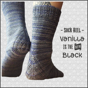 Vanilla Sock Heel