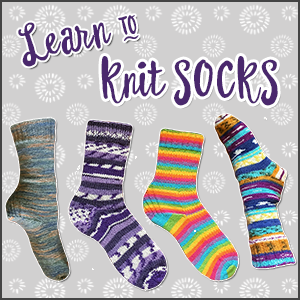 Learn to Knit: Winter Socks
