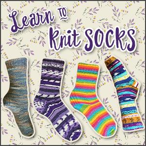 Socktober: Learn to Knit Socks