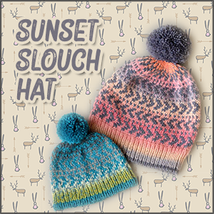Sunset Slouch Hat 2020