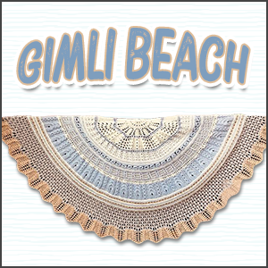 Gimli Beach Shawl