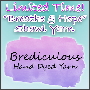 Breathe and Hope Shawl Yarn