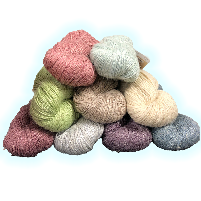 Tussah Kissed by Plymouth Yarns