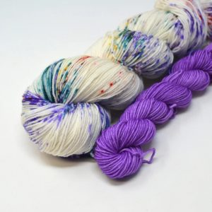 Winifred Speckles + Purple