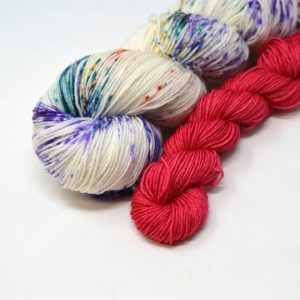 Winifred Speckles + Red