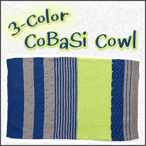 3 Color CoBaSi Cowl