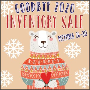 Goodbye Inventory Sale 2020