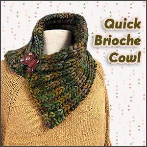 Quick Brioche Cowl
