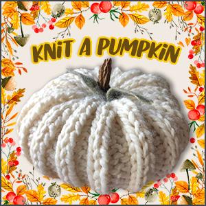 Knit a Pumpkin