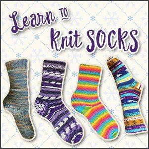 Learn to Knit Socks - Winter