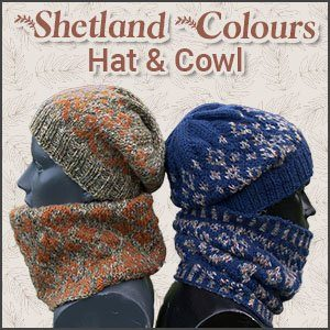 Shetland Colours Hat and Cowl
