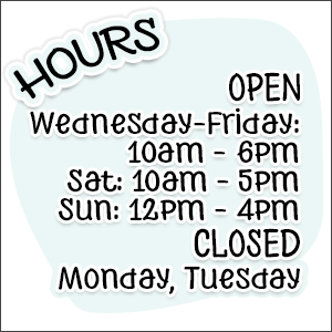 Store Hours January 2021