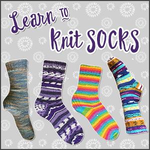 learn to knit socks